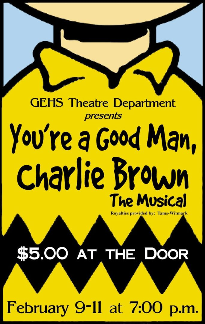 "Curtain to rise on GEHS' ""Charlie Brown"""