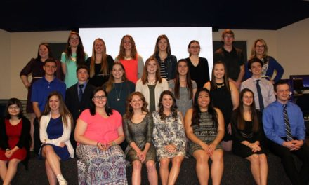 GEHS students initiated into National Technical Honor Society