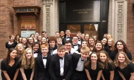 GEHS choir traveled to New York City