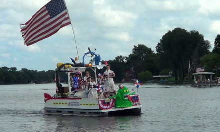 The Annual Gardner Lake 4th of July Boat Parade
