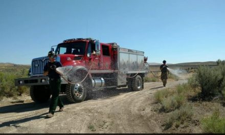 Area fire crew deployed to Elko, Nevada
