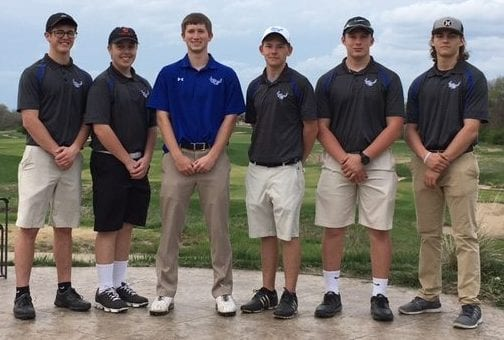 Blazer JV golf team wins first place honors at home invitational