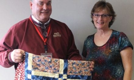 Program honors veterans with handcrafted quilts