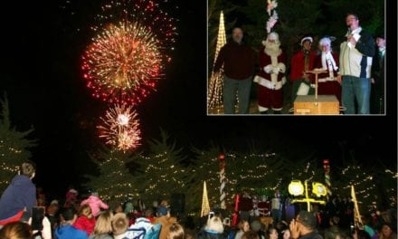 27th annual Mayor's Christmas Tree Lighting and Santa's Workshop set