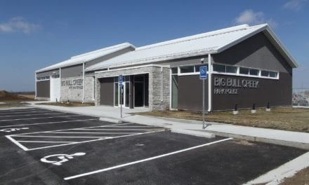 Building completed for new Big Bull Creek Park Police