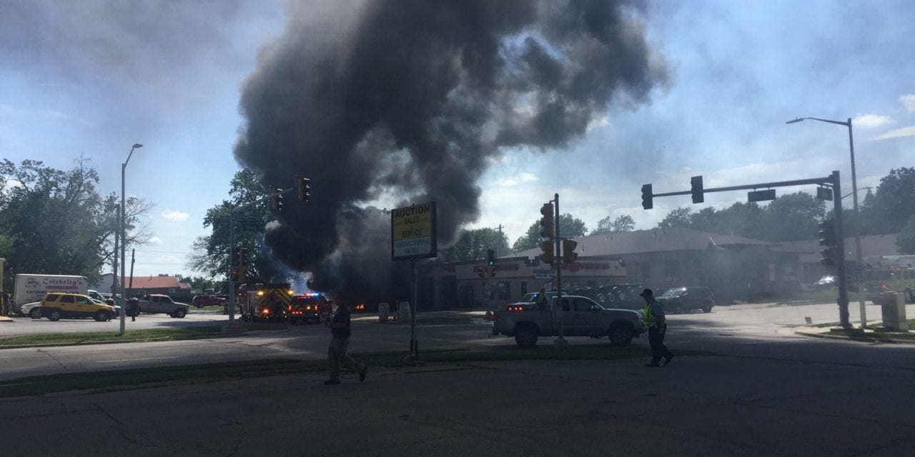 UPDATE: Big O Tires fire