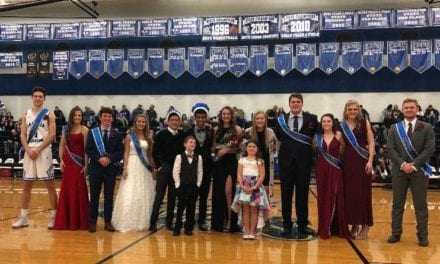 GEHS Winter Royalty Candidates