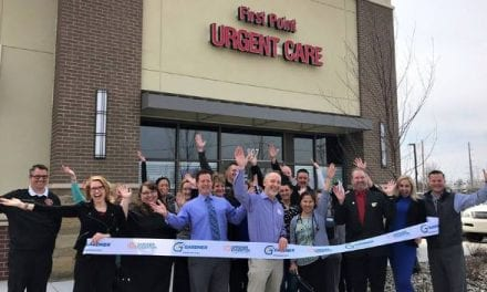 Ribbon cutting for First Point Urgent Care