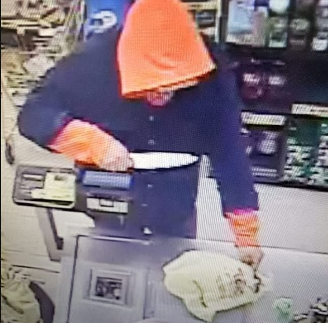 Armed robbery at Dollar General