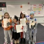 Hinojosa inspires young artists in JCPRD afterschool care class