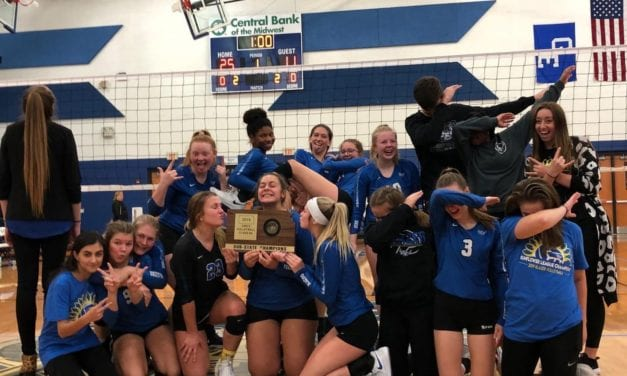 Blazer volleyball team heads off to state
