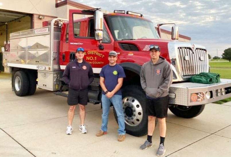 JCFD#1 dispatched to Colorado for wild fire